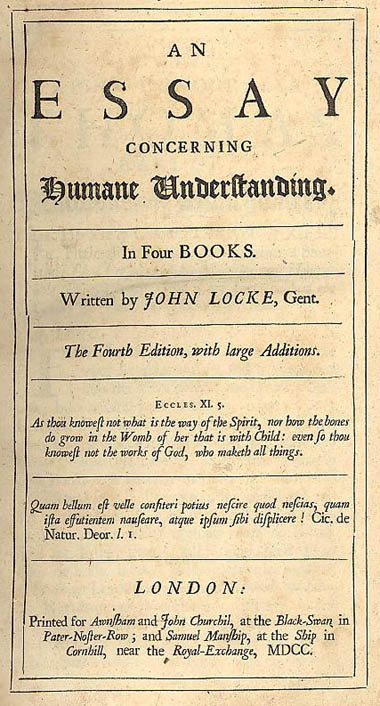 An update on the clarendon edition and the library of john locke